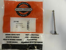 GENUINE BRIGGS & STRATTON EXHAUST VALVE 211119 - original Briggs 211119S