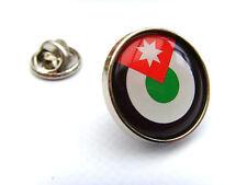 Jordan Jordanian Air Force Roundel Lapel Pin Badge Gift