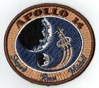 APOLLO 14 - CREW Souvenir - VINTAGE ORIGINAL CLOTH BACK NASA SPACE PATCH