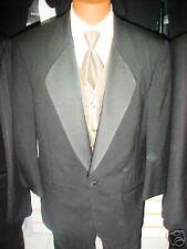 Black Pierre Cardin  tuxedo  50R/43 pants   SHARP