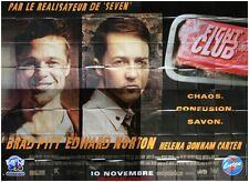 FIGHT CLUB Affiche Cinéma GEANTE / WIDE Movie Poster BRAD PITT DAVID FINCHER
