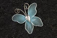 10 petits papillons turquoise. Décoration de mariage