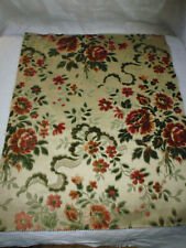 Coupon tissu ameublement Velours french fabric style 17e 18e 48x40 cm / 17