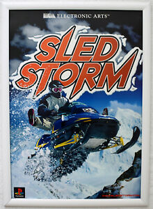 Sled Storm RARE PS1 42cm x 59cm Promotional Poster
