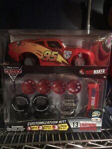 Disney Pixar Cars 2 Ridemakerz Lightning Mc Queen Customization  Kit Toys R Us