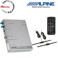 Alpine TUE-T220DV - Mobile Digital TV Receiver (DVB-T2) HDMI Output With Antenna