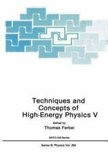 Techniques and Concepts of High-Energy Physics V 20 (2013, Paperback)