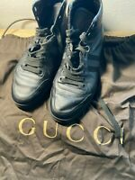 Gucci Authentic High Top Sneakers Shoes Men's Size 10(US) Genuine Gucci