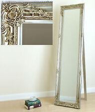 Portland Standing Cheval Roccoco Shabby Chic Long Mirror Champagne 170x45cm