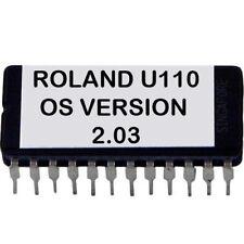 Roland U-110 Eprom with Latest OS version 2.03 firmware U110