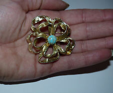 Beautiful Vintage Hollywood Brooch. 1960's. Signed.