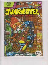 Junkwaffel #1 VF- (2nd) print mint - vaughn bode - underground comix