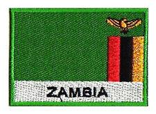 stemma stemma toppa bandiera ZAMBIA 70/45 mm toppa paese Africa Mondo