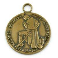 Vintage 1950 National Jamboree Valley Forge Medallion Boy Scouts BSA