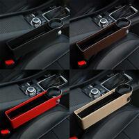 Car Seat Gap Storage Catcher Box Pocket Organizer Phone Cup Holder Organizer Box