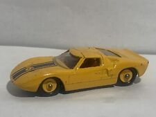 VINTAGE LESNEY MATCHBOX SERIES FORD GT - YELLOW *LOOSE*
