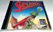Superfrog Commodore Amiga CD32 CD-ROM Islona CD Version New Sealed