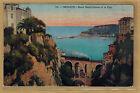Cpa Monaco - ravin Sainte Dévote et le port rp0621
