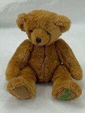 "Russ Berrie Art C. Bear Teddy 12"" Brown Plush Stuffed Animal Toy"