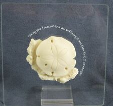 Roman Lasting Expressions Sand Dollar 40782 Times Of Trial Clear Picture Plaque