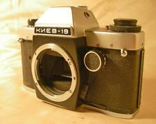 KIEV-19 camera 35mm film SLR BODY Nikon F lens mount Arsenal Ukraine 1989 AS-IS