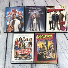 5 Dvd Movie Lot - Mallrats American Pie 2 Superbad Galaxy Quest Dr Dolittle 2 W4