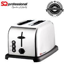SQ Professional Gems Quartz PRO Legacy 2 Slice Defrost/Reheat Toaster in SILVER