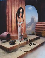 Cher Signed 10x8 Photo AFTAL