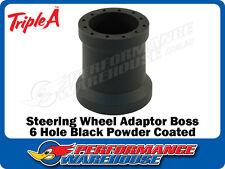 STEERING WHEEL ADAPTOR BOSS FOR MOMO SPARCO PORSCHE 911 CARRERA 74-88 BLACK