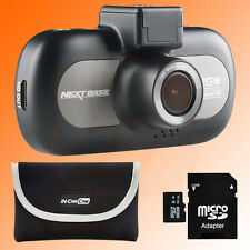 "Nextbase 412GW In Car Dash Dashboard Camera 3"" 1440P QHD WiFi with Full GO pack"