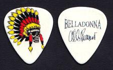 Belladonna Al Romano Signature Indian Headdress Guitar Pick #4 2011 Tour Anthrax