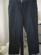 Marina Rinaldi Women's Max Mara Black Denim Jeans  Size 23 /14 US