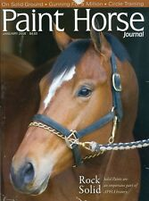 2008 Paint Horse Journal: On Solid Ground/Gunning For a Million/Circle Training