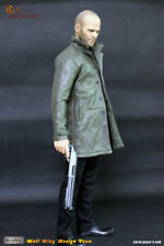 1/6 Scale WOLFKING Jason Statham Male Actor WK89014B Head Sculpt&Clothes Set