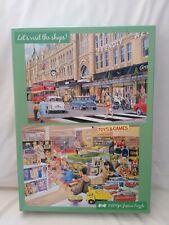 500 piece jigsaw puzzles X2 Let's Visit The Shops Complete