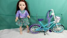 Journey Girls Doll With the  Bike