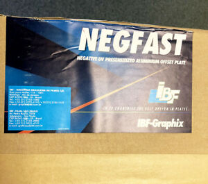 Negative Offset Printing Plates 13-3/8 x 19-7/8 SC Negfast IBF Aluminum VL106146