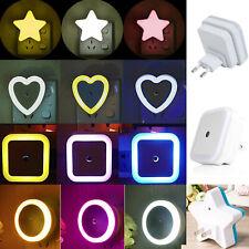 Sensor LED Night Light EU / US Plug Luminaire Lamp Baby Nightlight 110V 220V RD