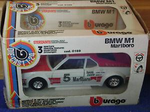 Burago / Bburago   BMW M1 Marlboro    cod .0169   scala 1:24   selten