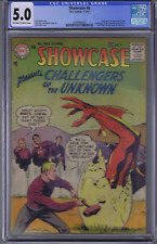 Showcase #6 DC Pub 1957 CGC 5.0 (VG/F) 1st appearance Challengers of the Unknown