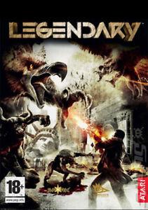 Legendary for PC (2008, DVD)