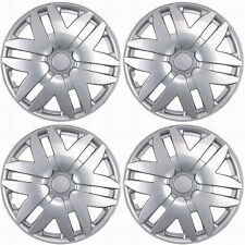 """NEW 4PC SILVER/LACQUER """"14 ABS HUB CAPS WHEEL COVER SET for TOYOTA SIENNA 04-05"""