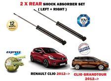 pour Renault Clio + GRANDTOUR 2012- > 2 x ARRIÈRE GAUCHE + AMORTISSEUR DROIT