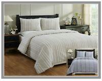 Better Trends Winston Collection 100% Cotton Chenille Comforter Set