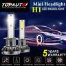 2020 MINI H1 CREE LED Headlight Bulbs Kit 200W 48000LM 6000K Hi/Lo Beam Lamps JO