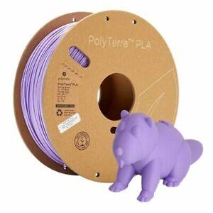 Eco-Friendly PLA Filament Purple 1kg Carton Spool PLA 1.75mm Lavender Purple