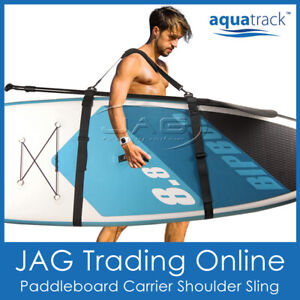 AQUATRACK SUP SLING Stand Up Paddle Board Carry Strap Surfboard Shoulder Carrier