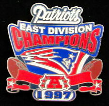 NEW ENGLAND PATRIOTS ~ 1997 AFC EAST CHAMPIONS Willabee & Ward CHAMPIONSHIP PIN