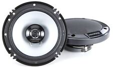 "KENWOOD KFC-1666S 600W 6.5"" KFC 2-Way Coaxial Car Speakers Pair"