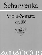 Sonata in G minor op. 106 Scharwenka, Philipp score and parts viola and piano
